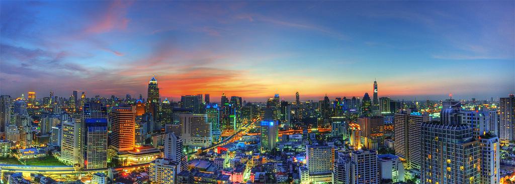 Bangkok Thailand Global From Asia